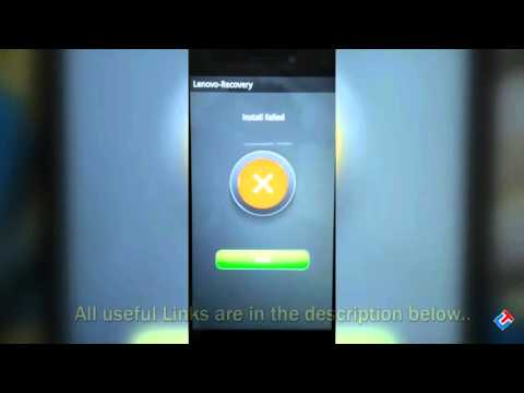 Fix Update Failure Issue on Lenovo K3 Note [Must Watch]