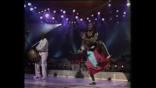 Mory Kanté - Yé ké yé ké TV live from the 80s (remastered VHS)
