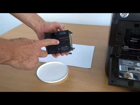 Tinten-Druckkopf reinigen am Beispiel HP Officejet Pro 8600 / E / Plus