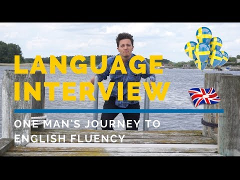 Language Interview: One Man's Journey To English Fluency