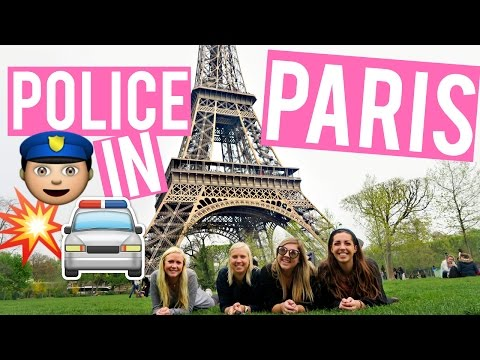 POLICE CAUGHT US BREAKING THE LAW IN PARIS