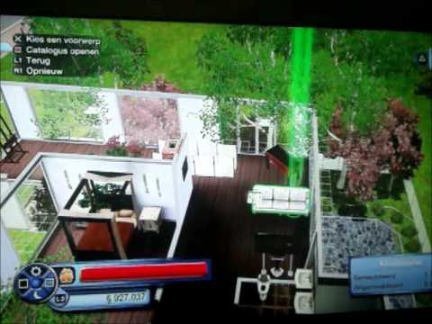 #1 Sims 3: Building a house on PS3.