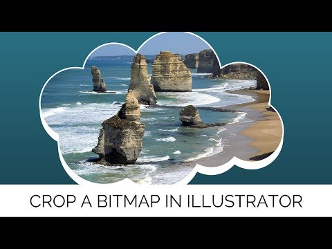Crop a Bitmap Image in Illustrator - Learn to Crop Bitmaps using Vector Shapes