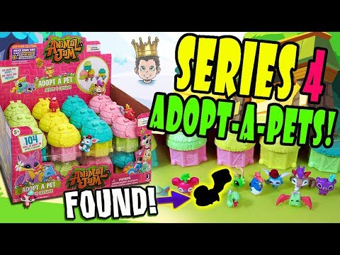 Animal Jam Series 4 Adopt A Pet Cottages - Look What I Found!