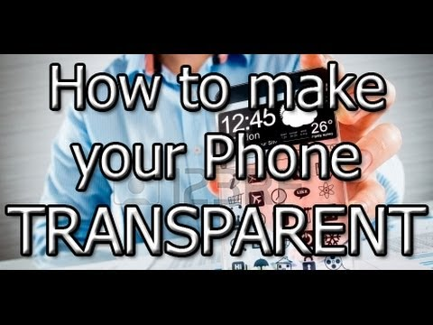 HOW TO MAKE YOUR PHONE CLEAR !!!!