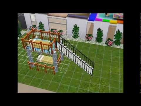 Sims 3 How to make a bunk bed