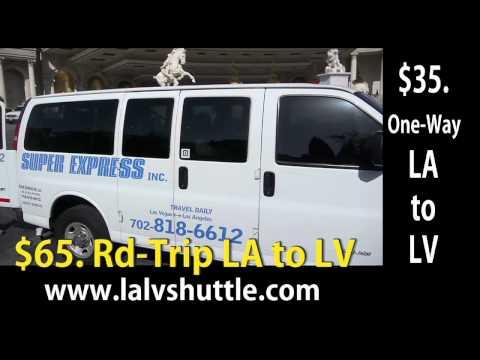 Los Angeles to Las Vegas Shuttle Service $37  www.lalvshuttle.com