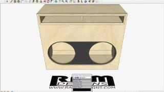 ram designs re audio sx 18 wall box design flush mount