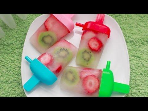Healthy Fruit Popsicles recipe