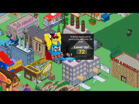 Simpsons Tapped Out How To LEVEL UP 6 TIMES IN UNDER A MINUTE!