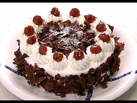 【楽らくクッキング】ドイツ風さくらんぼデコレーションケーキ【Easiness Cooking】 German-style cherry decoration cake