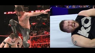 WWE KEVIN OWENS INJURED! Seth Rollins Curbstomp NEWS Huge Stars Cancelled From Royal Rumble 2018