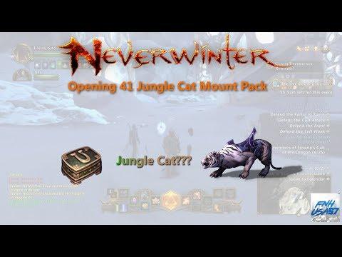 Neverwinter: Opening 41 Jungle Cat Mount Pack