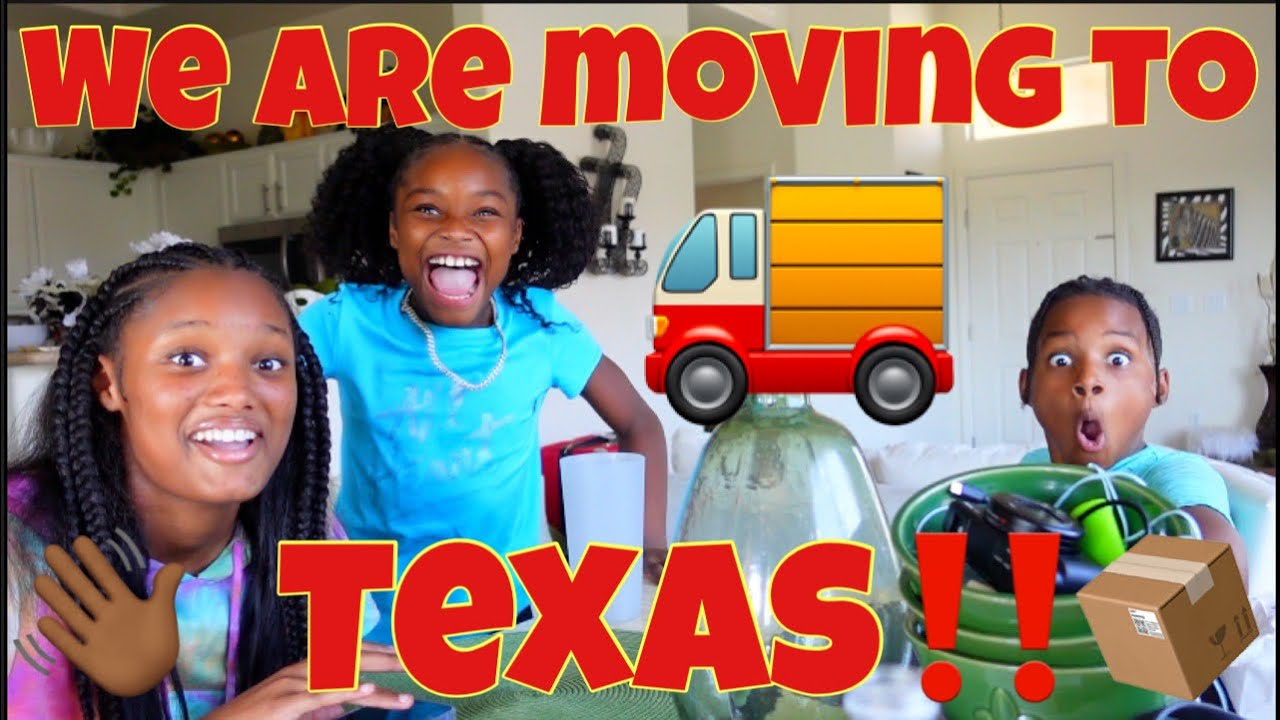 TELLING THE KIDS WE ARE MOVING TO TEXAS‼️😱