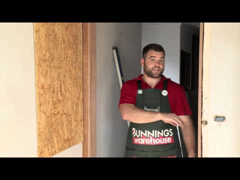 How to Install a Door Jamb - DIY At Bunnings