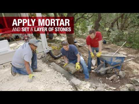 2. HOW TO BUILD A RETAINING WALL