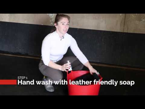 How to Clean a Shearling Girth