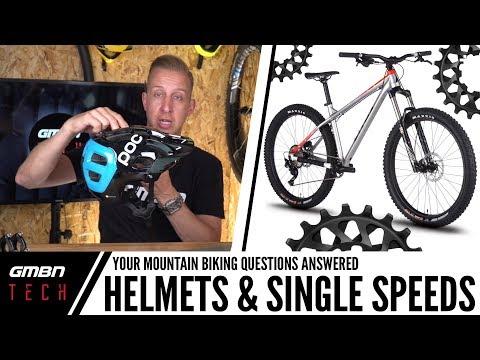 Helmets, Single Speed & Entry Level Mountain Bikes | Ask GMBN Tech