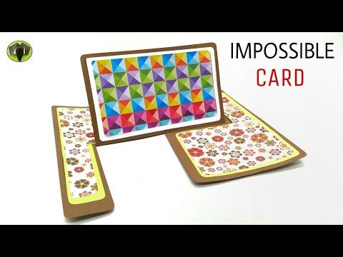 Impossible Fold Card - DIY Tutorial - 907