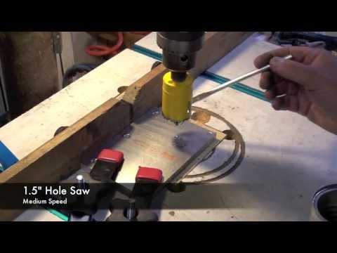 Drilling Holes in Aluminum