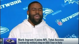 Mark Ingram explains what makes Lamar Jackson an elite quarterback