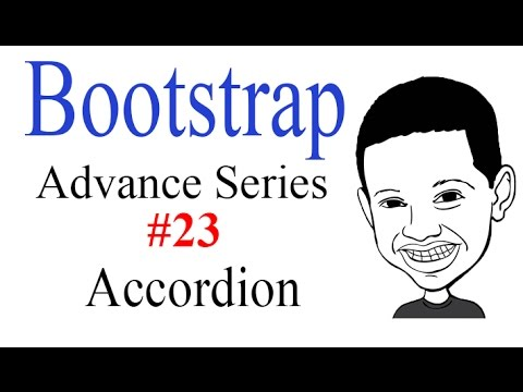 Advance Bootstrap Tutorial With PHP #23: Creating a Bootstrap ACCORDION - NICE!