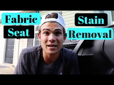 THE IMPOSSIBLE FABRIC: Car Upholstery Stain Removal