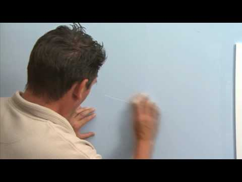 Repairing Dings, Cracks or Scratches on your plasterboard walls with GIB Living