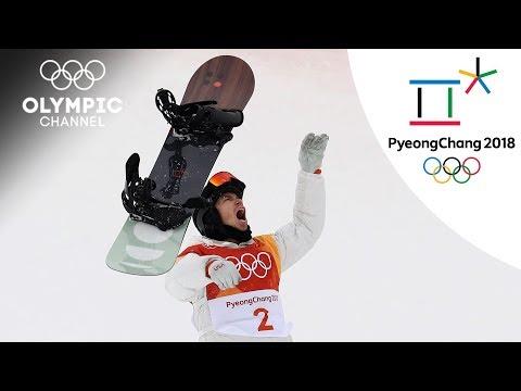 Shaun White grabs Snowboard Halfpipe Gold on his very last run | PyeongChang 2018