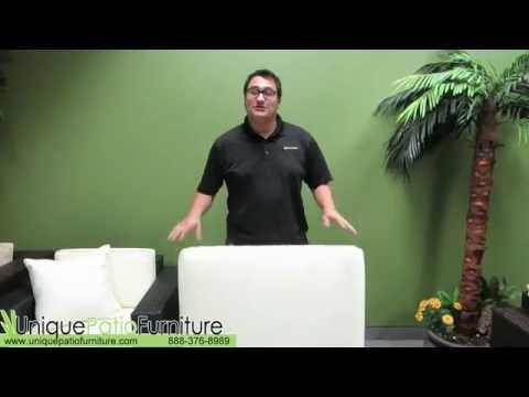 How To Change Your Cushion Fabric | Patio Furniture | UniquePatioFurniture.com