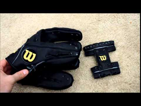 Wilson A2000 1788 Baseball Glove Relace - Before and After Glove Repair