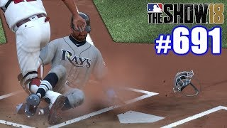 STEALING 2ND, 3RD & HOME ON 3 PITCHES! | MLB The Show 18 | Road to the Show #691