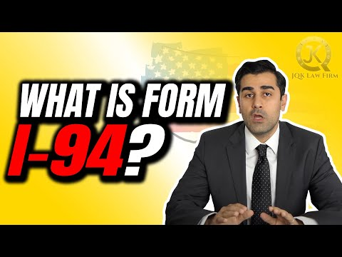 What is Form I-94?