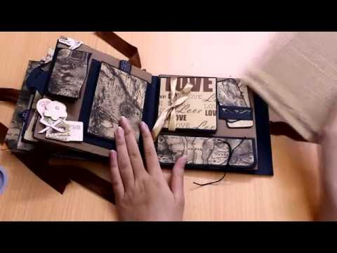 Scrapbook for Lovers - Vintage Scrapbook