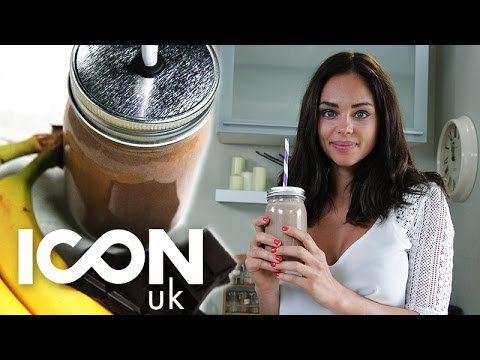 Raw Chocolate And Banana On-The-Go Smoothie   Danielle Hayley
