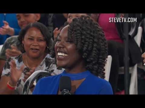 Steve Harvey Turns This Woman's Strange Laugh Into A Meme