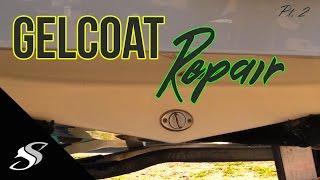 Boat Fiberglass Gelcoat Repair - Part 1 - PakVim net HD Vdieos Portal