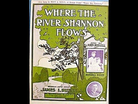John McCormack - Where the River Shannon Flows 1913