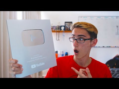 WE GOT THE NEW 100K YOUTUBE PLAY BUTTON!!!