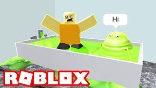 ESCAPE THE ROBLOX SLIME!