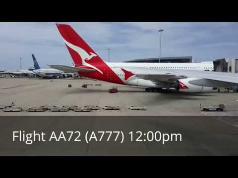 American Airlines | Boeing 777 | Sydney-LAX