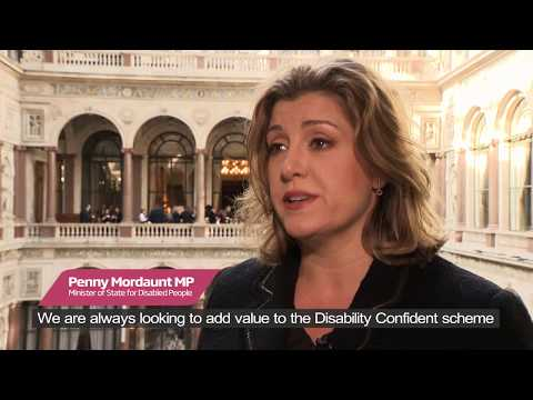Penny Mordaunt MP talks Mental Health & Disability Confident