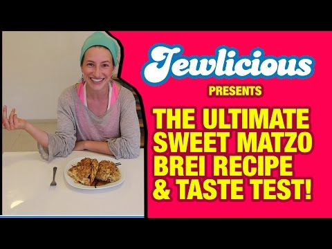 The Ultimate Sweet Passover Matzo Brei Recipe