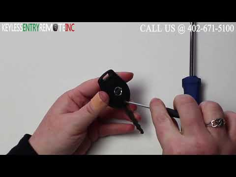 How To Replace Nissan Cube Key Fob Battery 2009 2010 2011
