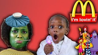 Happy Meal Gets Super Mom Sick Doctor Siah To The Rescue
