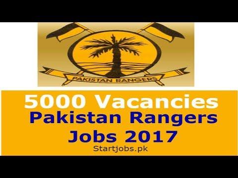 Pakistan Ranger Jobs 2017-18 For all Pakistani Candidates: