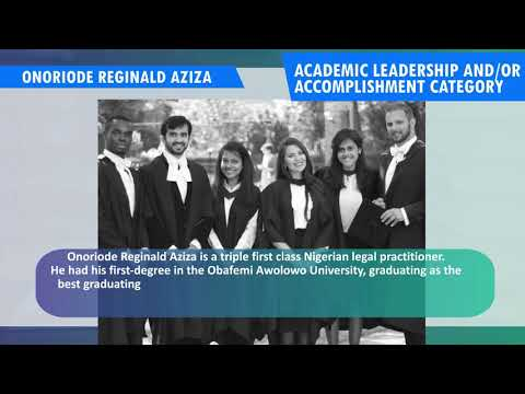 REGINALD AZIZA NOMINEE 2018 TOYP OF NIGERIA