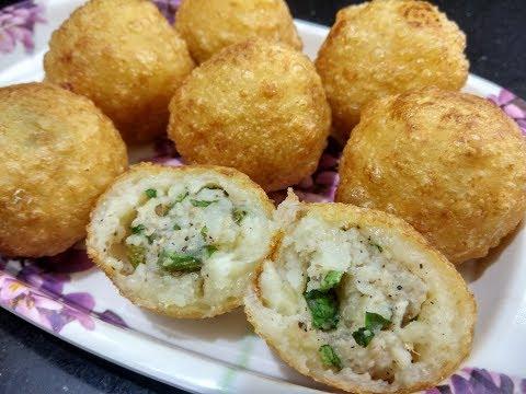 Faraali Buff Vada - Farali Patties Recipe in Hindi - उपवास के लिए बफ्फ वड़ा