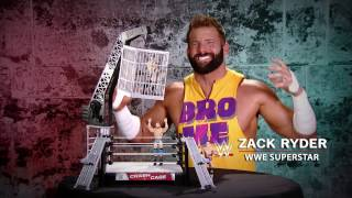 Relive NXT TakeOver: Toronto with Zack Ryder and the Mattel Crash Cage Playset