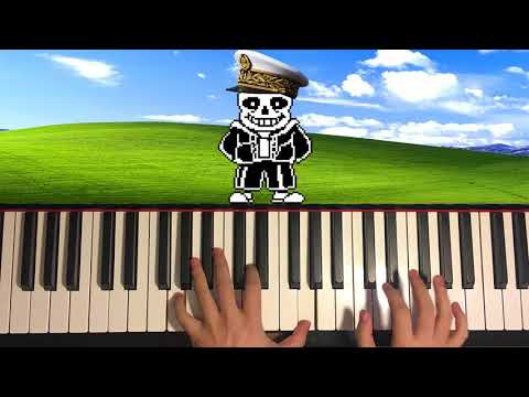MEGALOVANIA... but it's played in a happy MAJOR KEY!?